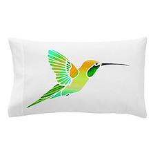 Lemon Lime Sorbet Hummingbird Pillow Case