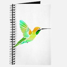 Lemon Lime Sorbet Hummingbird Journal