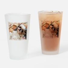 BonnyTheShihTzu_Snuggles Drinking Glass