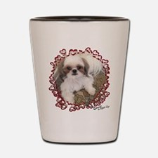 BonnyShihTzu_Hearts Shot Glass