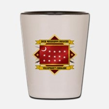 39th Mississippi Infantry Shot Glass