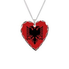 Flag of Albania Necklace