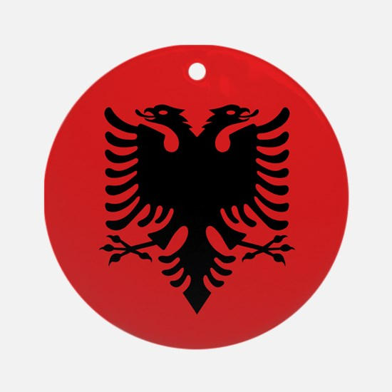 Flag of Albania Ornament (Round)