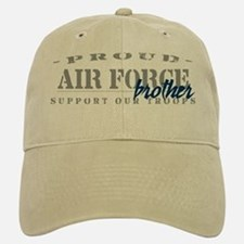 Proud Air Force Brother (Blue) Baseball Baseball Cap