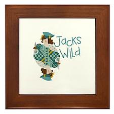 Jacks Wild Framed Tile