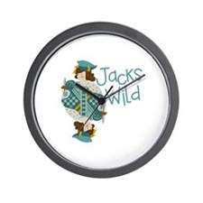 Jacks Wild Wall Clock