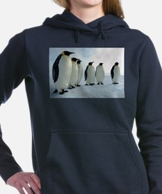 Emperor Penguins Council Women's Hooded Sweatshirt