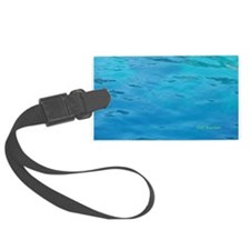 Turquoise Water Luggage Tag
