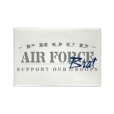 Proud Air Force Brat (Blue) Rectangle Magnet