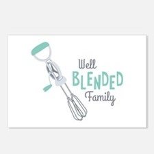 Well Blended Family Postcards (Package of 8)