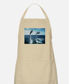Twin Dolphins Apron