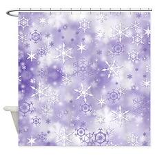 Cute Frosty Shower Curtain