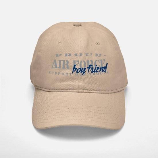Proud Air Force Boyfriend (Blue) Baseball Baseball Cap