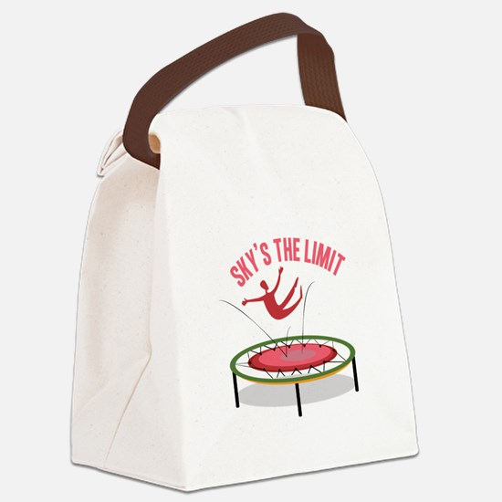 Sky Is The Limit Canvas Lunch Bag