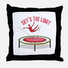 Sky Is The Limit Throw Pillow