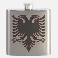 Albanian Eagle Flask