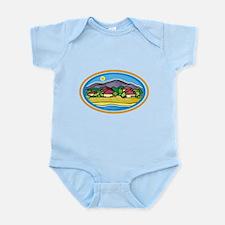 Ocean Village Beach Infant Bodysuit