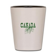 Canada Roots Shot Glass