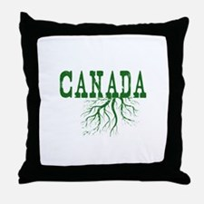Canada Roots Throw Pillow