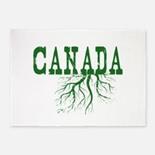 Canada Roots 5'x7'Area Rug