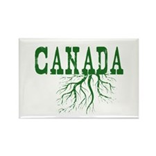 Canada Roots Rectangle Magnet