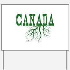 Canada Roots Yard Sign