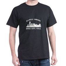 Nashville . . . Music City US T-Shirt