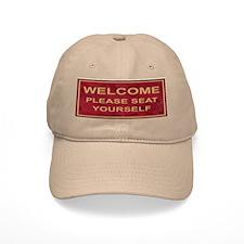Please Seat Youself Baseball Cap