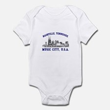 Nashville . . . Music City US Infant Bodysuit