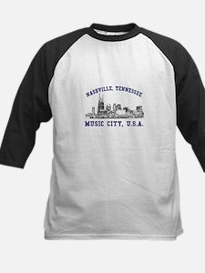Nashville . . . Music City US Kids Baseball Jersey