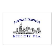 Nashville . . . Music City US Postcards (Package o