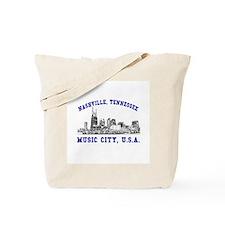 Nashville . . . Music City US Tote Bag