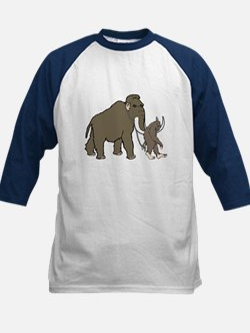 Woolly Mammoth And Bigfoot Tee