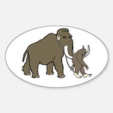 Woolly Mammoth And Bigfoot Decal