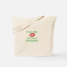 Kiss Me I'm from Memphis Tote Bag