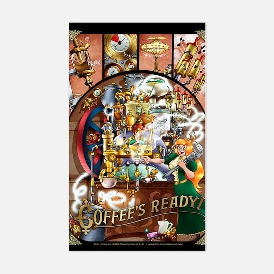 Coffee Engine Decal