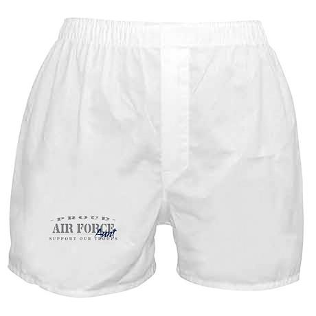 Proud Air Force Aunt (Blue) Boxer Shorts