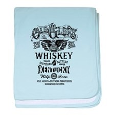 whiskey,whisky, booze, beer, kentucky baby blanket