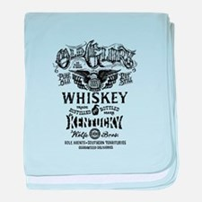 whiskey,whisky, booze, beer, kentucky baby blanket