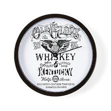 whiskey,whisky, booze, beer, kentucky, Wall Clock