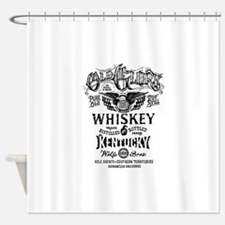 whiskey,whisky, booze, beer, kentuc Shower Curtain