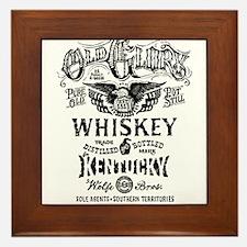 whiskey,whisky, booze, beer, kentucky, Framed Tile