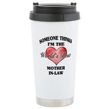 World's Best Mother-In- Travel Mug