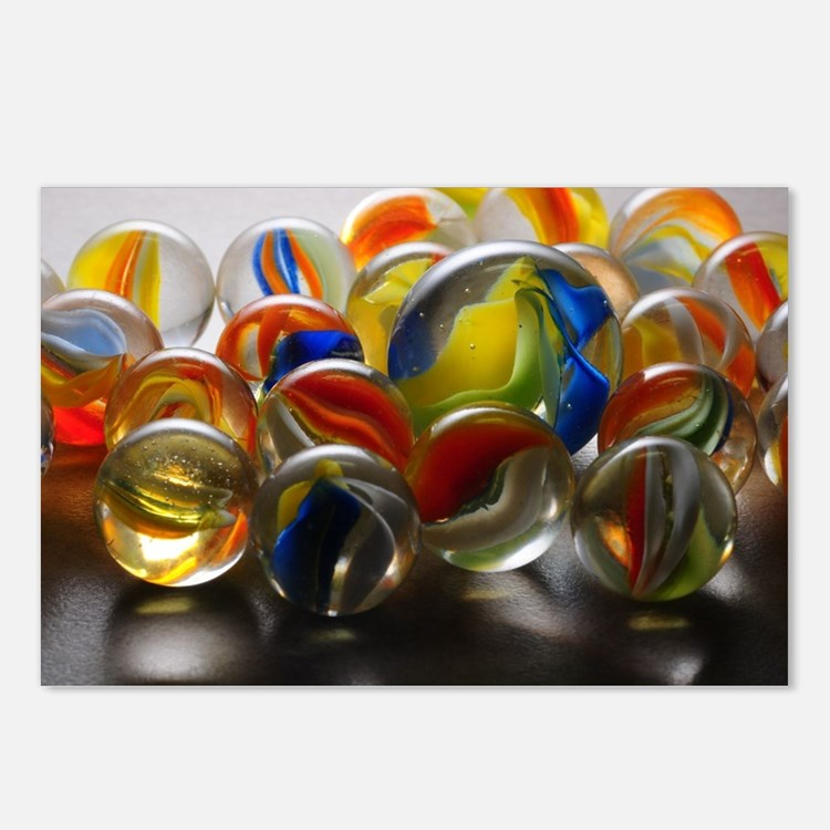 Cute Glass marbles Postcards (Package of 8)