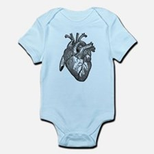 Anatomical Heart - Black Body Suit