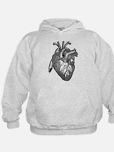 Anatomical Heart - Black Hoodie