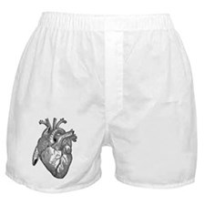 Anatomical Heart - Black Boxer Shorts