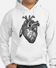 Anatomical Heart - Black Hoodie