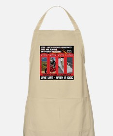 Hectic Hudson - Live Life With A Dog Apron