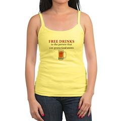 Free Drinks Jr.Spaghetti Strap
